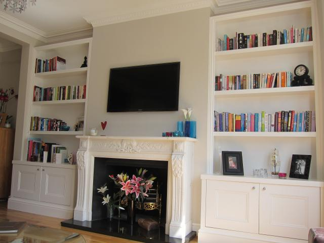 free shipping 69b4c 353aa JAMES CARPENTRY   alcove cabinets   wardrobes   bookcases ...