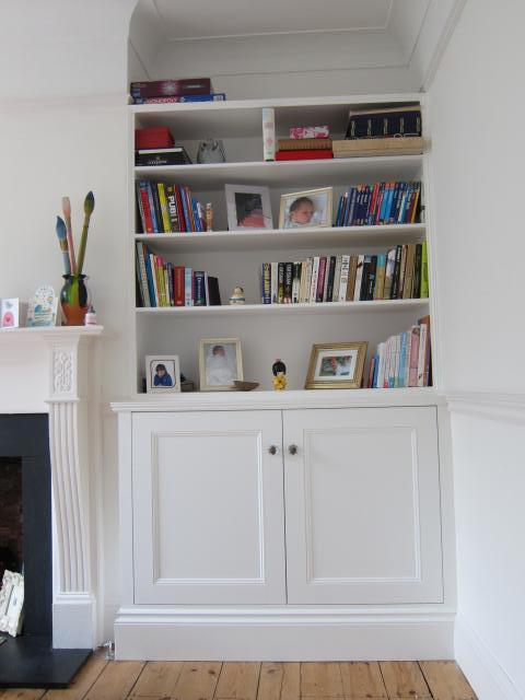 Living Room Alcove Decorating Ideas: Alcove Cabinets